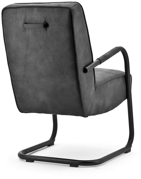 24Designs Luxe Bureaustoel Boston NPR - Zwarte Netweave Rugleuning - Aluminium Gepolijst Onderstel