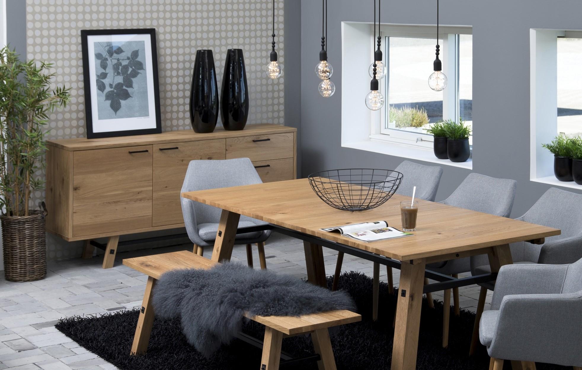 24Designs Dressoir Kopenhagen - L180 X B44 X H85 Cm - Eiken