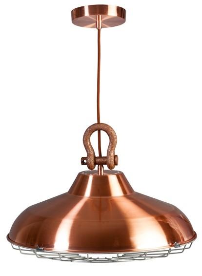 ETH Hanglamp Industry - Koper Kleur