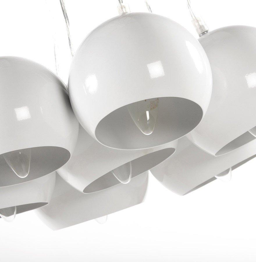 24Designs Hanglamp Seven - Witte Bollen