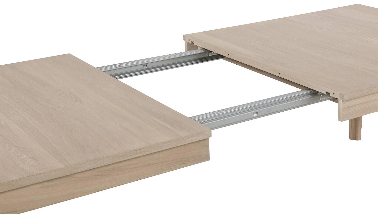 24Designs Nicky Verlengbare Tafel L220-320 Cm Inclusief 2 Inlegbladen
