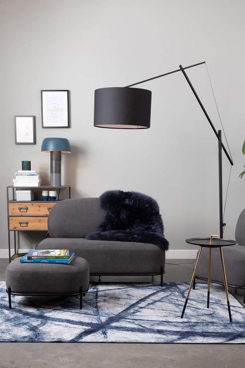 24Designs Stikx Verstelbare Vloerlamp - Hoogte 210 Cm - Zwart
