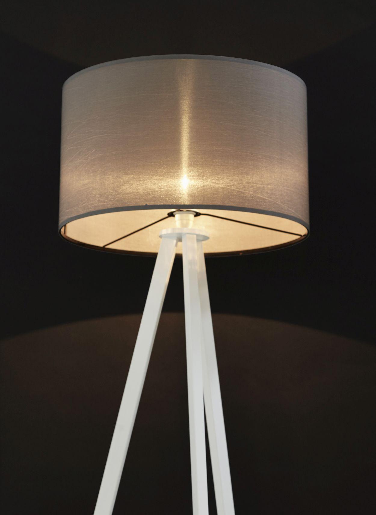 24Designs Vloerlamp Leya - H159 - Metaal - Grijs