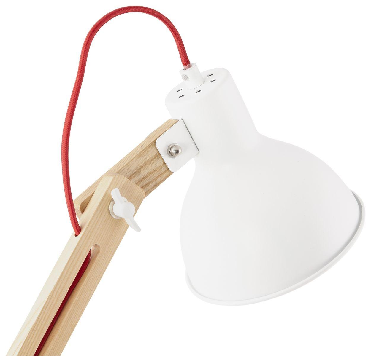 24Designs Vloerlamp Elvira - H163 - Wit