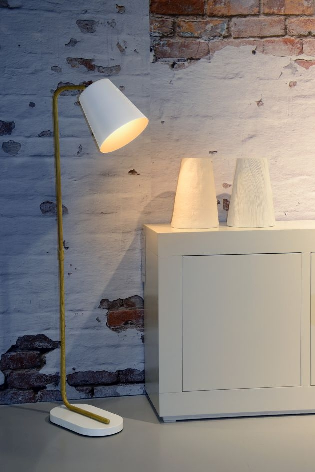 Lucide Vloerlamp Cona - Wit