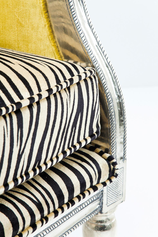 Kare Design Fauteuil Regency Zebra - Multikleur