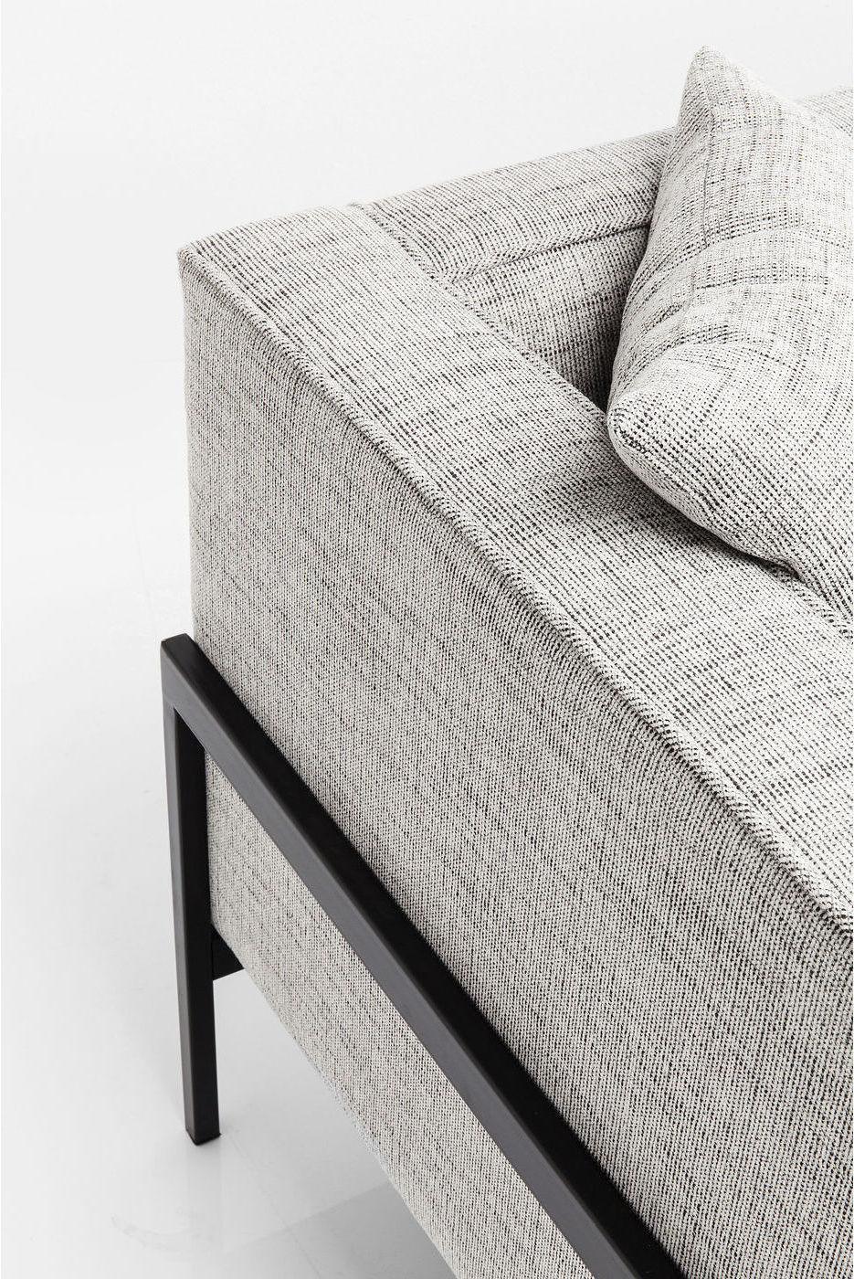 Kare Design - Bank 3-zits - Loft Salt&Pepper - Grijs