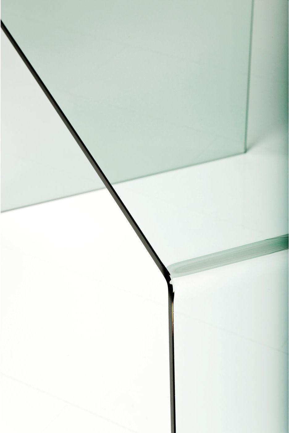 Kare Design - Clear Club Bureau - 125x60x78 - Transparant Glas