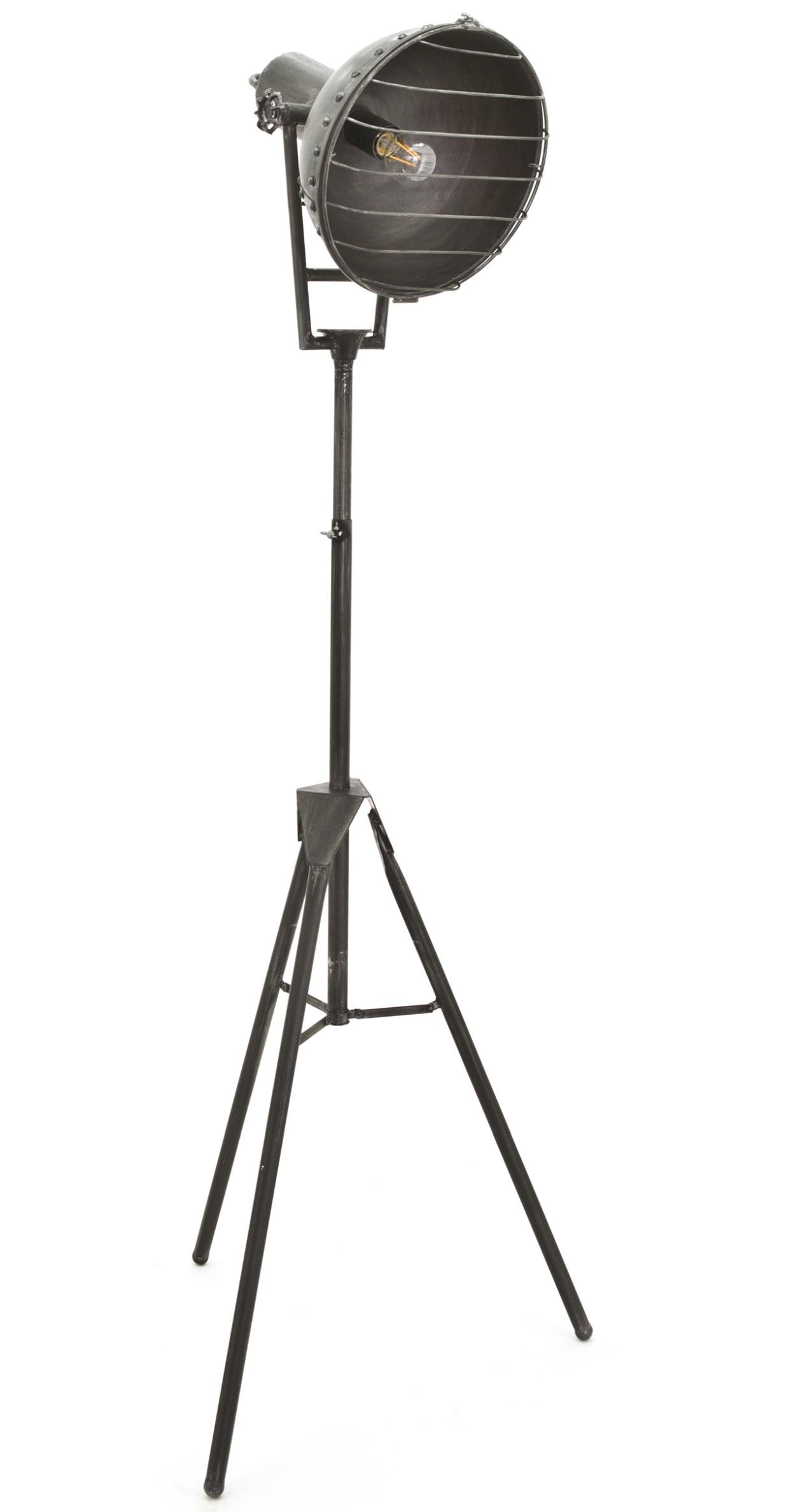 By-Boo Vloerlamp Heatwave - H150 Cm - Grijs