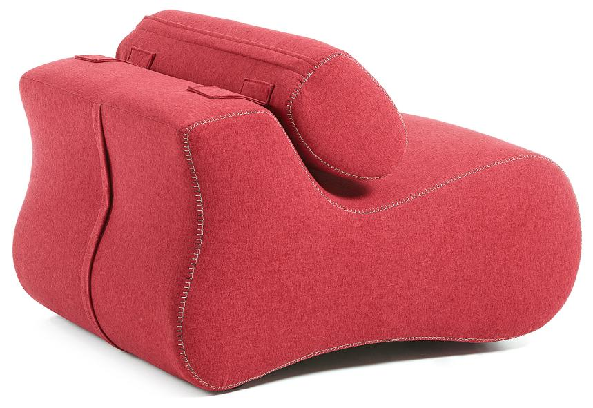 LaForma Club Relax Fauteuil - Rode Stof