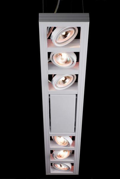 Linea Verdace Plafondspot Cool-6 Up Rechthoek - Wit - Verstelbare Halogeen Lamp