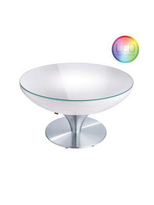Moree Lounge Outdoor LED Pro Salontafel met Accu - Ø84 x H45 cm