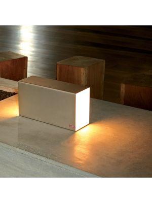 Moree Eraser Tafellamp - L38 x B13 x H20 cm - Goud