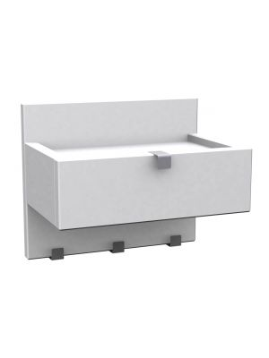 Rowico Confetti Wandplank - B30 x D22 x H25 cm - Wit