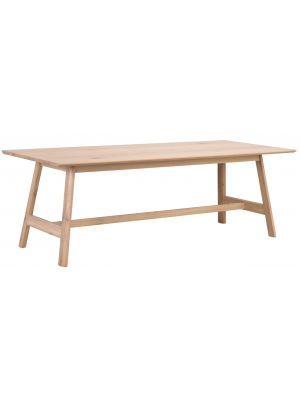 Rowico Islay Verlengbare Eettafel - Whitewash Tafelblad - L220 x B95 x H75 cm