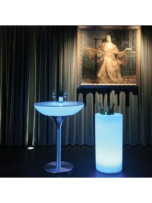 Moree LED Wijnkoeler - Ø46 x H89 cm - Wit