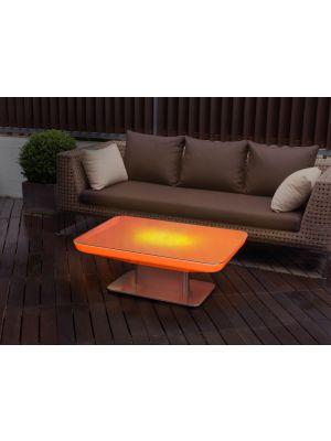 Moree Studio Outdoor LED Salontafel met Accu - L100 x B70 x H45 cm