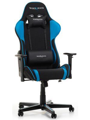 DXRacer Formula-series Game & Bureaustoel - Zwarte Stof - Blauw PU