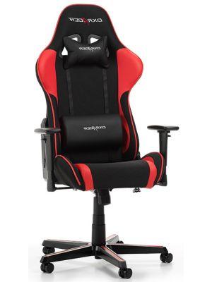 DXRacer Formula-series Game & Bureaustoel - Zwarte Stof - Rood PU