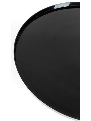 Zuiver Shiny Bomb Ronde Salontafel - Diameter 67 x Hoogte 40 cm - Zwart