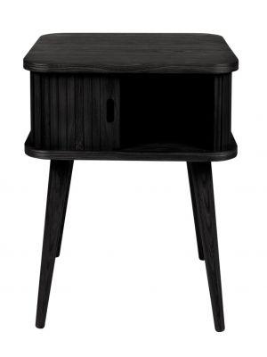 Zuiver Barbier Bijzettafel - B45 x D45 x H59 cm - Zwart