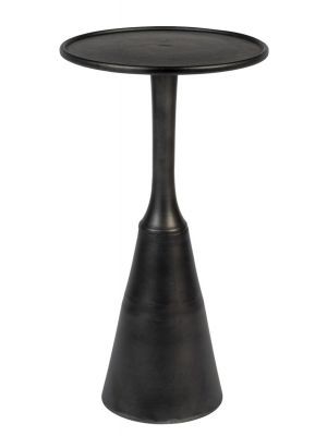 24Designs Bordeaux Bijzettafel - Ø35 x H65 cm - Zwart