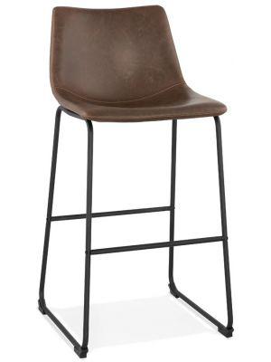 24Designs Barkruk Gaucho - Zithoogte 72 cm - Bruin Kunstleer