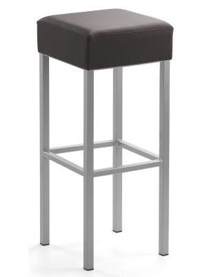24Designs Barkruk Russel - Zithoogte 81 cm - Bruin Kunstleer