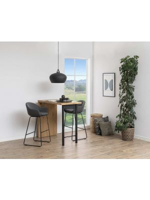 24Designs Hoge Bartafel Butler - B120 x D60 x H105 cm - Eiken Decor
