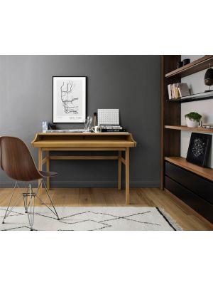 24Designs Rasmus Bureau - B115 x D44 x H84 cm - Eiken