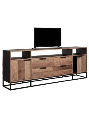 24Designs Cosmo NO.3 TV Meubel - B200 x D40 x H75 cm - Teakhout