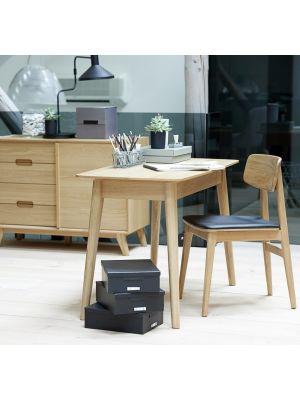 24Designs Sandved Eiken Dressoir 1-Deur/4-Laden - L108 x B45 x H80 cm