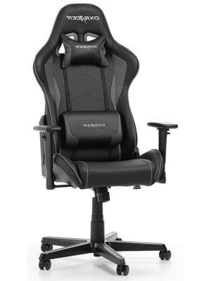 DXRacer Formula-series Game & Bureaustoel - Zwart/Grijs PU