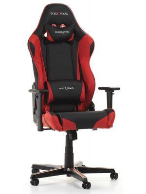 DXRacer Racing-series Game & Bureaustoel - Zwart/Rood PU