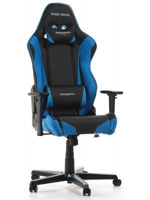 DXRacer Racing-series Game & Bureaustoel - Zwart/Blauw PU