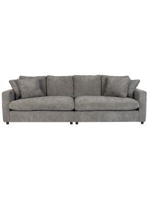 Zuiver Sense 3-Zits Bank - Breedte 266 cm - Stof Grey Soft