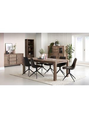 24Designs Alaska TV meubel - B160 x D45 x H55 cm - Massief Acaciahout