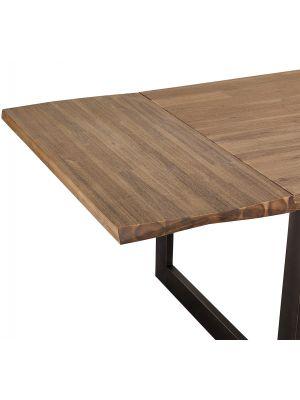 24Designs Mallorca Eettafel Verlengstuk - L50 x B90 cm - Massief Acaciahout