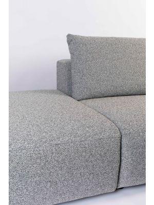 Zuiver Breeze Outdoor Sofa Element Midden - B90 x D118 x H86 - Grijs