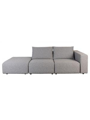Zuiver Breeze 3-zits Outdoor Sofa - Armleuning Rechts - Grijs