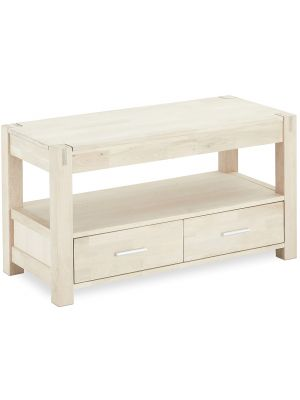 24Designs Texas TV-meubel - B102 x D45 x H55 cm - Massief Eikenhout
