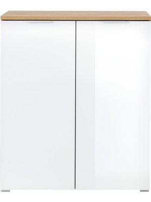 24Designs Nordic Schoenenkast - B89 x D40 x H105 cm - Wit