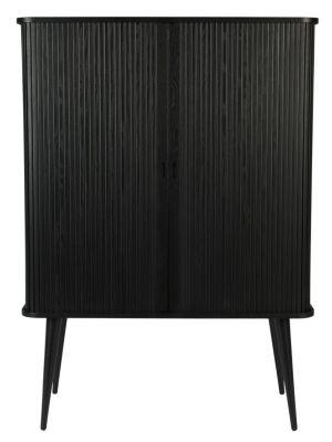 Zuiver Barbier Kast - B100 x D45 x H140 cm - Zwart