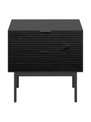 24Designs Soma Nachtkastje - B51 x D41 cm - Zwart