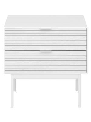 24Designs Soma Nachtkastje - B51 x D41 cm - Wit