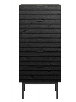 24Designs Soma Ladekast - B51 x H111 cm - Zwart