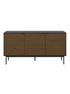 24Designs Soma Dressoir - B150 x D41 x H76 cm – Zwart/Bruin