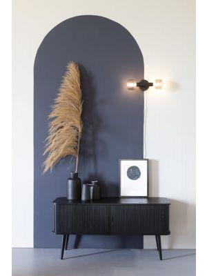 Zuiver Barbier Dressoir - B120 x D40 x H57.5 cm - Zwart