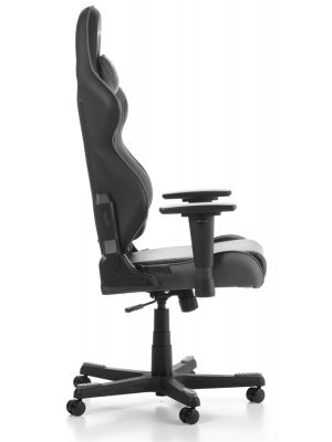 DXRacer Racing-series Game & Bureaustoel - Zwart/Grijs PU