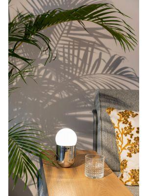 Zuiver Gio Tafellamp - Ø9 x H17,5 cm - Zilver